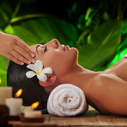 Indická masáž proti bolesti hlavy