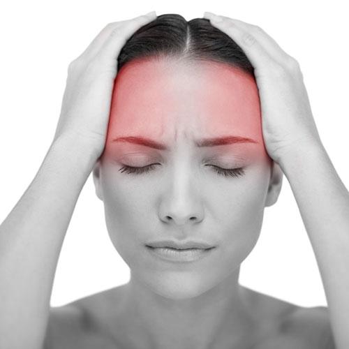 Masáž proti migréně
